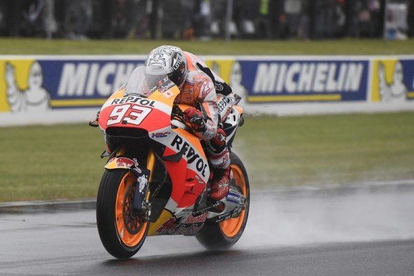 65e pole position de Marc Marquez, un nouveau record. (Photo : Honda Repsol)
