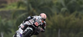 14e pole position de Johann Zarco en Moto2. (Photo : Ajo)