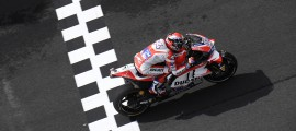 Andrea Dovizioso remporte sa deuxième victoire en MotoGP. (Photo : Ducati).