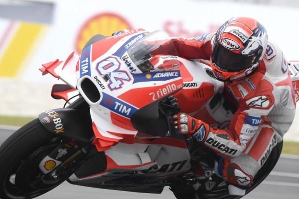 5e pole position pour Andrea Dovizioso en MotoGP, la 2e cette saison. (Photo : Ducati)
