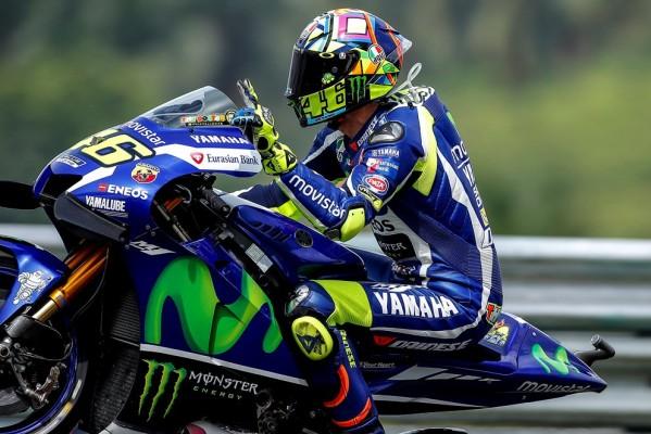 Valentino Rossi, vice-Champion MotoGP 2016. (Photo : Yamaha Racing)