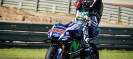 65 poles, 44 victoires, 107 podiums et 3 titres pour Jorge Lorenzo sur Yamaha.
