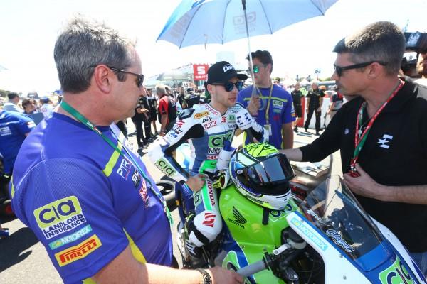 Jules Cluzel vise un retour en Thaïlande dans deux semaines. (Photo : PTR Honda)