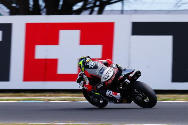 Roberto Rolfo remporte sa première victoire en World Supersport. (Crédits : WorldSBK.com)