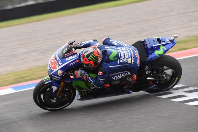 Vinales réitère son exploit du Qatar en s'imposant en Argentine. (Photo : Yamaha Racing Team)