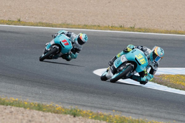 Joan Mir s'est imposé au terme du premier jour à Jerez. (Photo : Leopard)