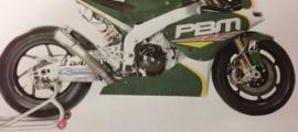 Nouvelles couleurs du team PBM Racing.