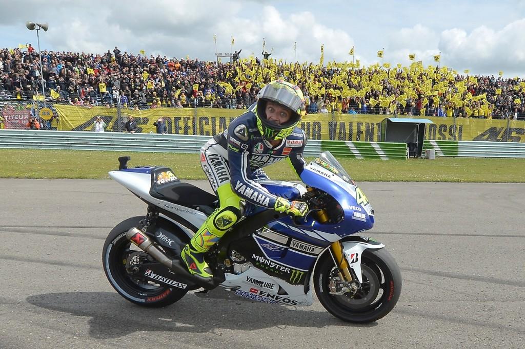 Valentino Rossi attendait cette victoire depuis le GP de Malaisie en 2010. (Photo : Yamaha MotoGP)