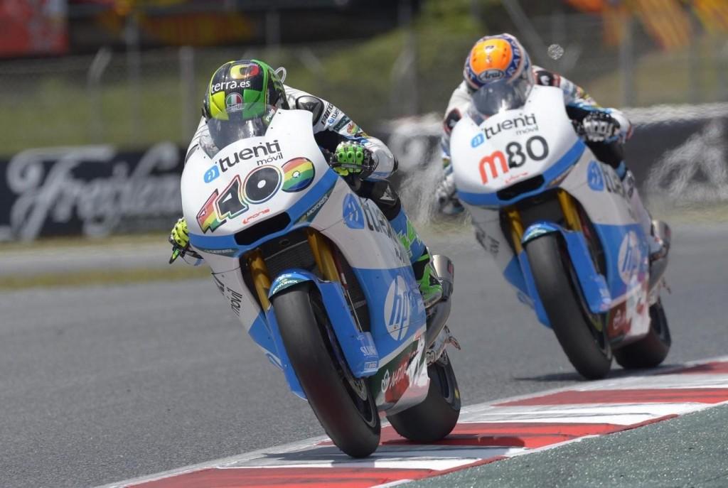 La guerre des coéquipiers a également fait rage en Moto2. (Photo : Derapate.it)