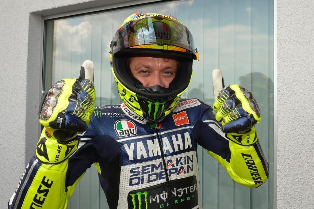 Une première ligne retrouvée pour Valentino Rossi. (Photo : Yamaha MotoGP)