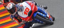 Alexis Masbou lors des essais qualificatifs du Sachsenring. (Photo : Page Pilote Alexis Masbou)