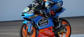 Alex Marquez, 2ème et premier podium en mondial Moto3. (Photo : Alex Marquez)