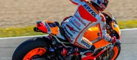 Marc Marquez, première victoire à Jerez. (Photo : Tom/OffBikes)