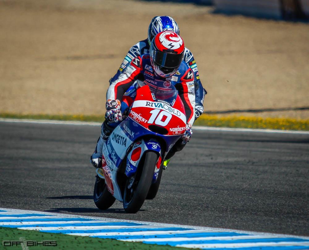 Malgré ses envies de Moto2, Alexis Masbou restera pilote Honda Moto3 en 2015 dans l'équipe RTG. (Photo : Tom/OffBikes)