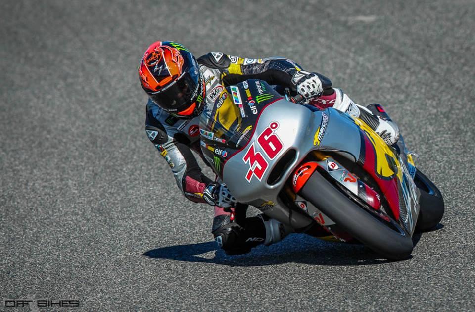 Mika Kallio en pôle position pour la première fois de la saison à Jerez. (Photo : ©OffBikes)