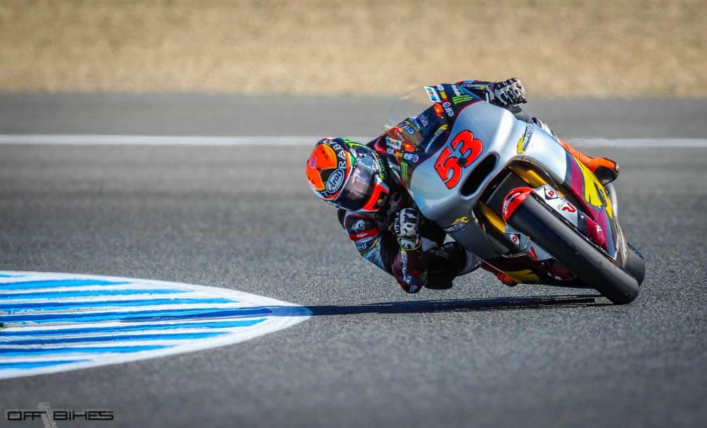 Esteve Rabat en séance libre à Jerez ce matin. (Photo : ©OffBikes)