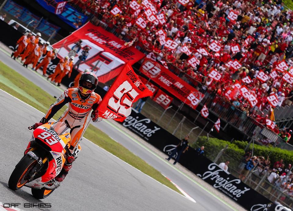 7ème victoire sur 7 courses pour Marc Marquez. (Photo : ©OffBikes)