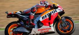Marc Marquez signe sa 11ème pole position de la saison. Sa 20ème en MotoGP. (Photo : OffBikes)