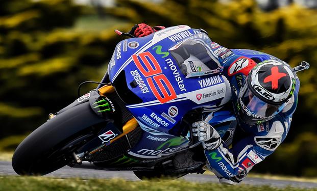 Incisif en début de course, Jorge Lorenzo a souffert des pneumatiques sur la Yamaha M1 en fin de course. (Photo : Yamaha MotoGP)
