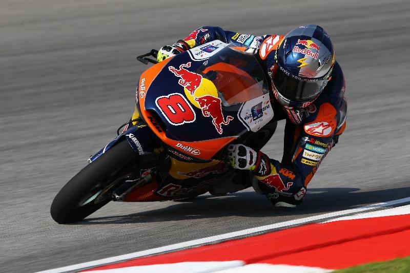 Jack Miller ne compte désormais plus que 11 points de retard sur Alex Marquez. Finale à Valencia. (Photo : Ajo Motorsport)