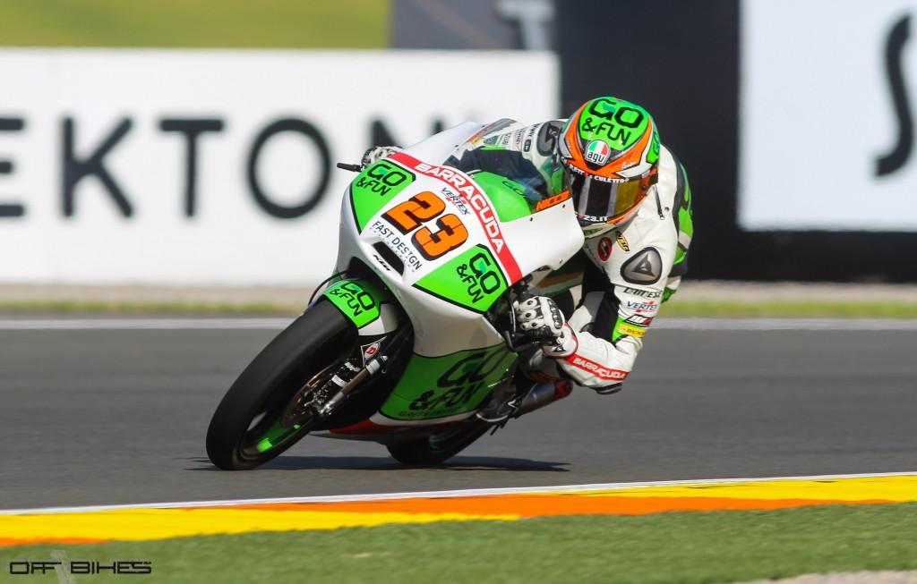 Niccolo Antonelli s'élancera depuis la pole position pour la première fois de sa carrière. (Photo : Tom/OffBikes)