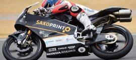 Alexis Masbou confiant pour le prochain test à Jerez cette semaine. (Photo : RTG).