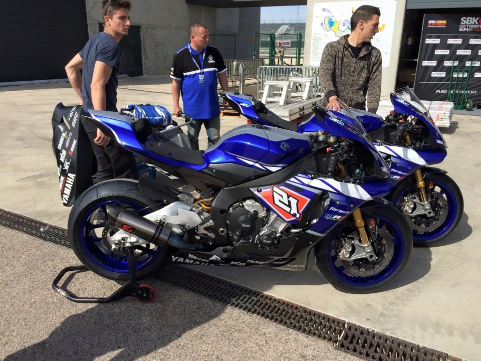 Les Yamaha YZF-R1M du MRS (Marino et Coghlan). (Photo : via MRS)
