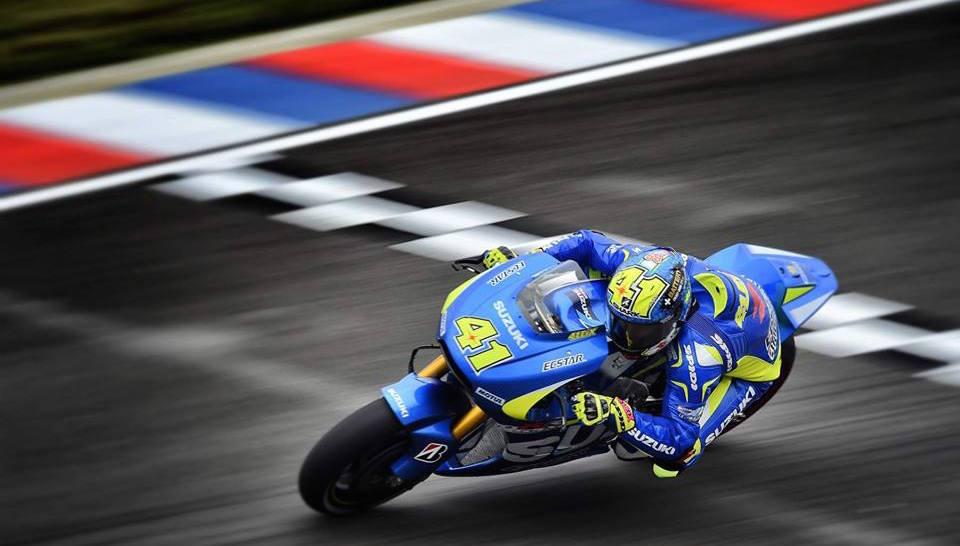 Aleix Espargaro sera sur la première ligne demain. (Photo : Suzuki MotoGP)