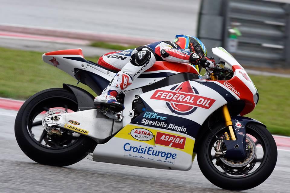 Xavier Simeon s'offre sa seconde pole position en Moto2. (Photo : Gresini Racing)