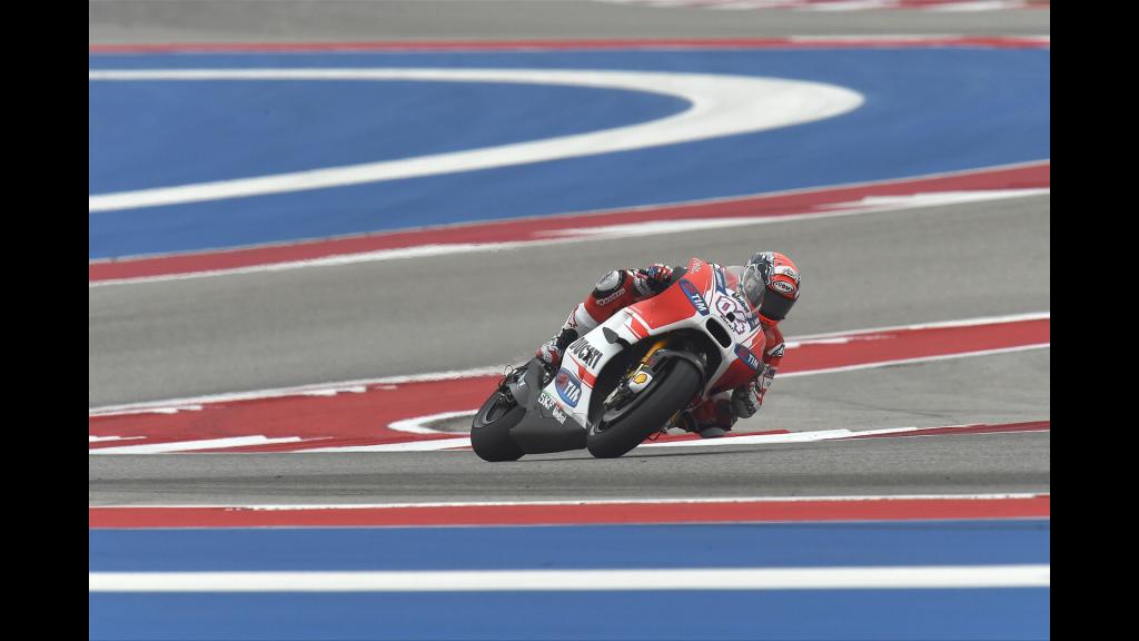 Marc Marquez place la Ducati sur la deuxième marche du podium pour la deuxième fois consécutive. (Photo : Ducati)