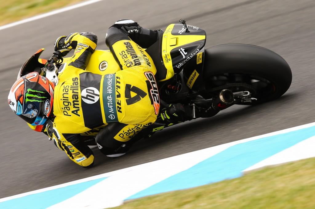 Alex Rins signe une nouvelle pole position, le 3e cette saison. (Photo : Pons)