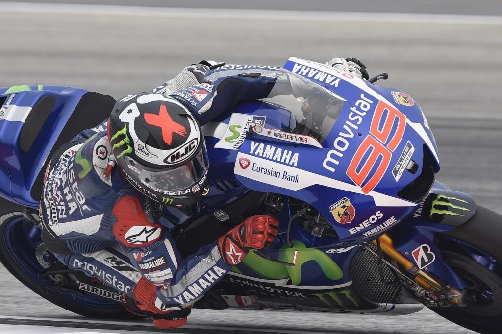 Jorge Lorenzo signe un nouveau record durant la FP3. (Photo : Yamaha)