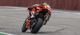 Chaz Davies, intouchable à Imola. (Photo : Ducati)