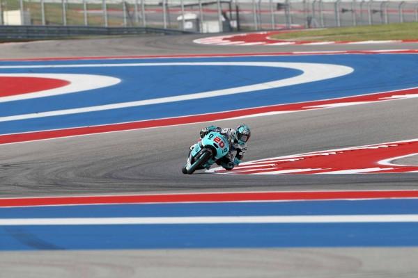 Fabio Quartararo s'impose sur le Circuit des Amériques vendredi. (Photo : Leopard)