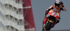 4e victoire consécutive pour Marc Marquez à Austin. Invicible aux Etats-Unis. (Photo : Honda)