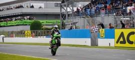 Kenan Sofuoglu conforte son avance au championnat en s'imposant à Misano. (Photo : Kawasaki Pucetti Racing)