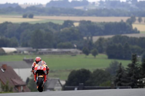 Marc Marquez signe la 62 pole de sa carrière. (Photo : Honda Repsol)