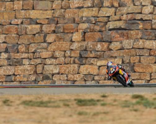 Le Sud-Africain, Brad Binder, succède à Jon Ekerold en 1980 (350cc).