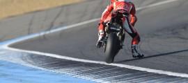 Chaz Davies remporte sa 8e victoire de la saison à Jerez. (Photo : Ducati)