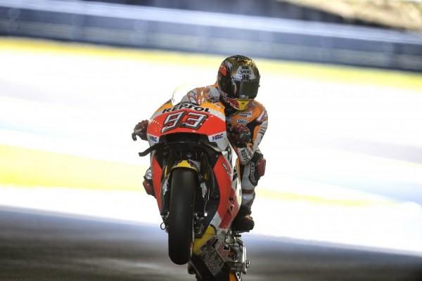 Marc Marquez devient triple Champion du Monde MotoGP. (Photo : Repsol Honda)