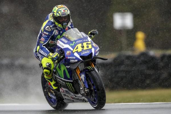 Valentino Rossi manque la Q2 pour la première fois. (Photo : Yamaha MotoGP)