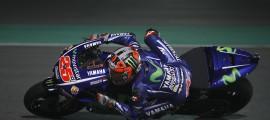 Maverick Viñales devient le première pilote à avoir signé une pole en Moto3, Moto2 et MotoGP. (Photo : Yamaha MotoGP)
