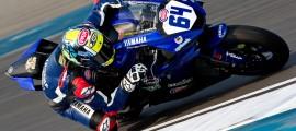Federico Caricasulo offre la première victoire à Yamaha après Sam Lowes en 2013. (Photo : Yamaha Racing)