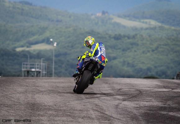 Valentino Rossi : 349 départs en Grand Prix.