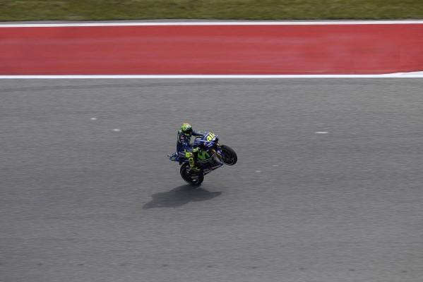 Valentino Rossi se rapproche de plus en plus. (Photo : Movistar Yamaha)